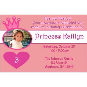 Princess Photo Invitations 2
