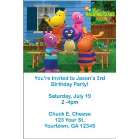 Backyardigans Invitations