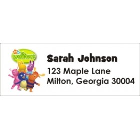 Backyardigans Return Address Labels