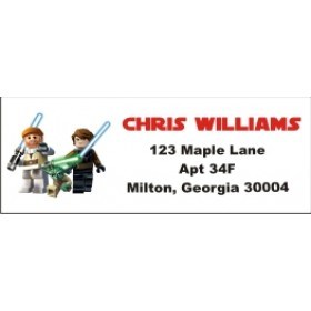 Lego Star Wars Return Address Labels