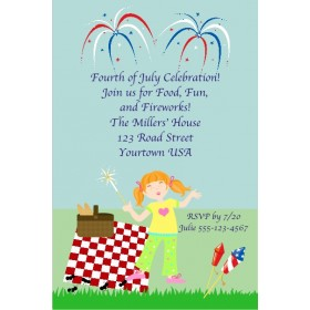 Fourth of July Independence Day (July 4th) Invitation 2