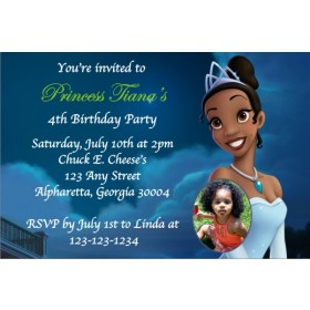Princess and the Frog Invitation w/Optional Photo