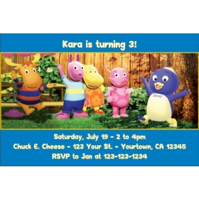 Backyardigans Invitations 2