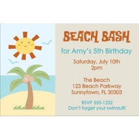 Beach Invitation 2