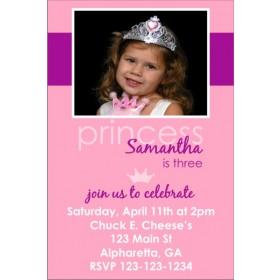 Princess Photo Invitation 4