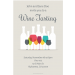 Wine tasting invitation template sample