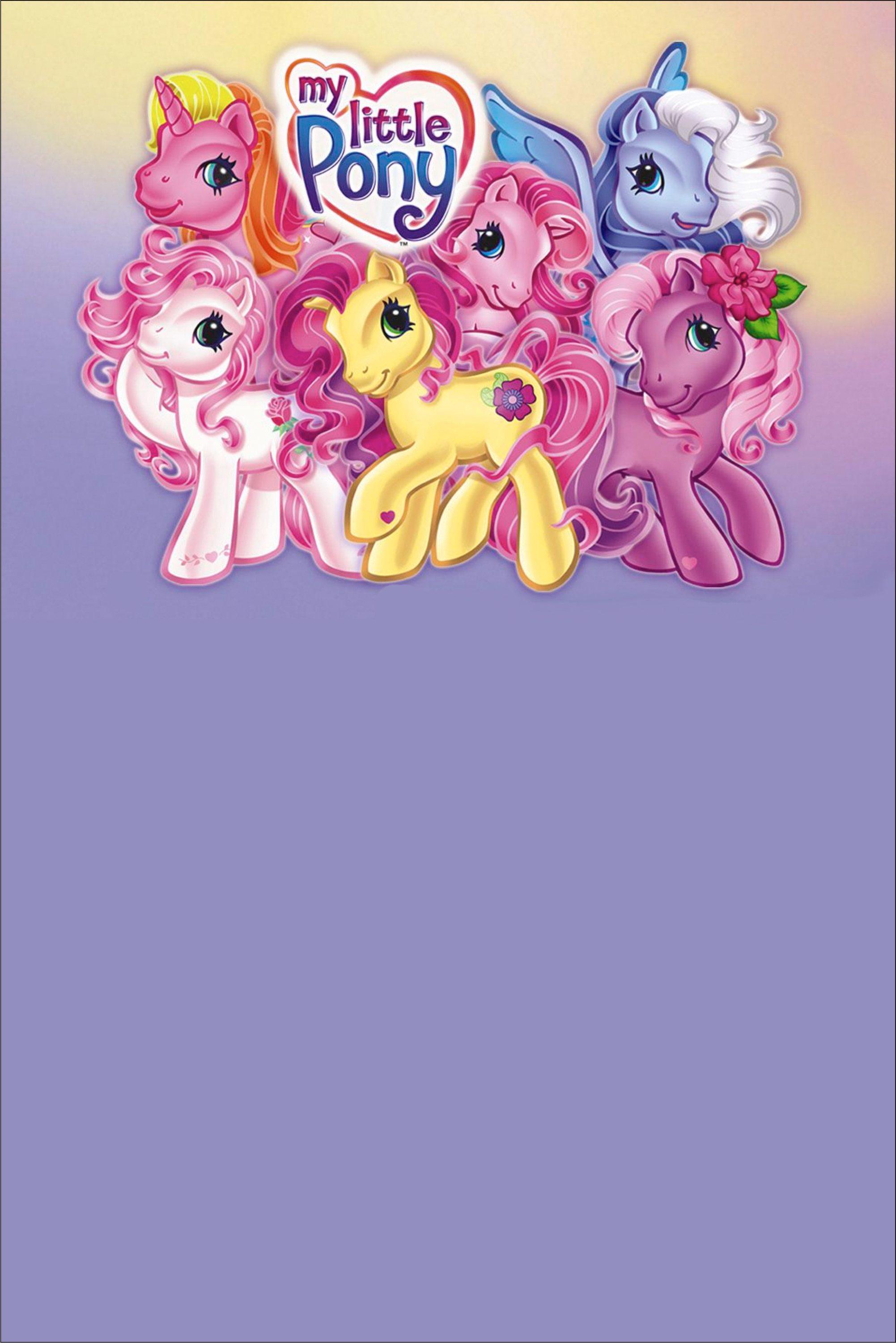 My Little Pony Invitation Personalized Party Invites
