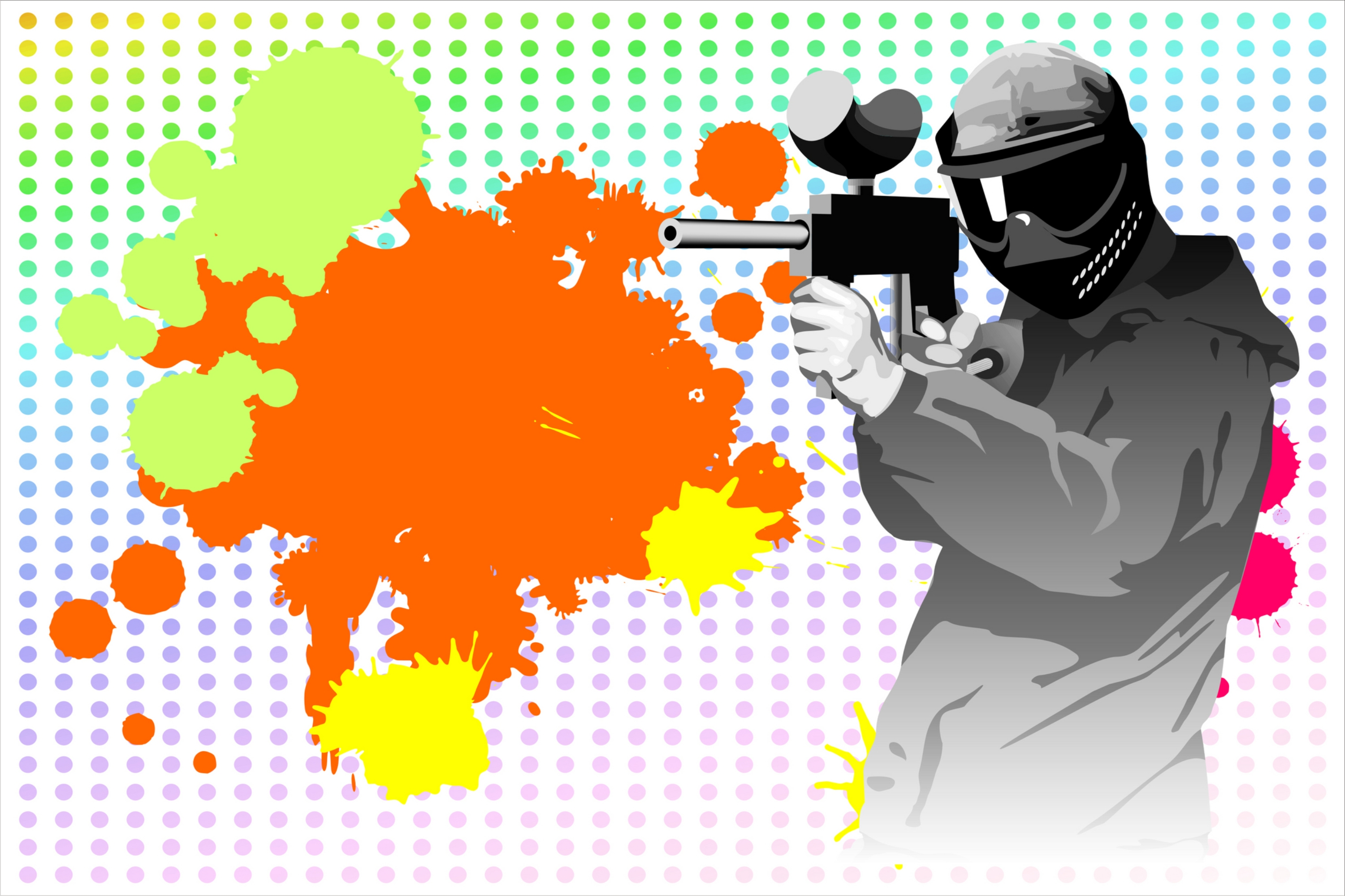 Paintball Invitation Personalized Party Invites