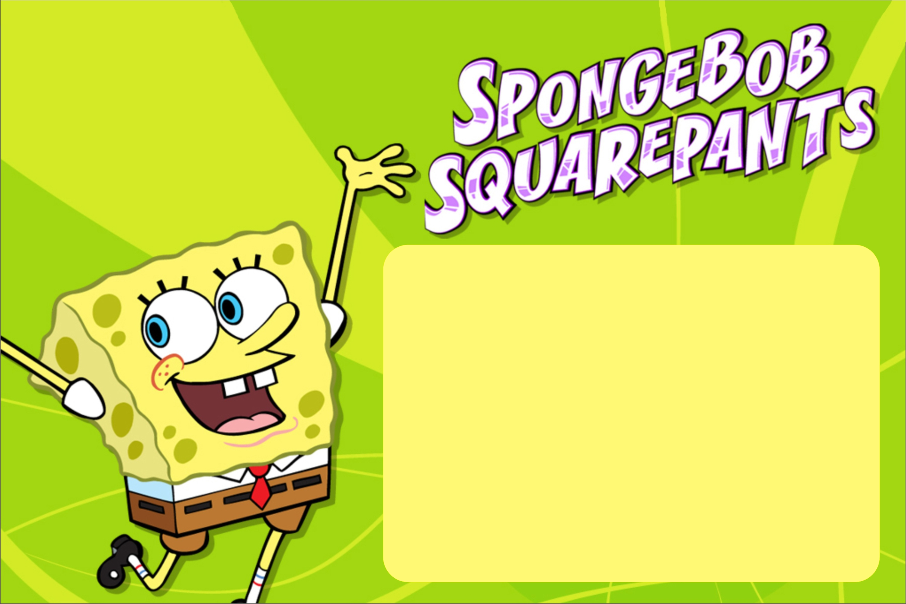 Spongebob birth date