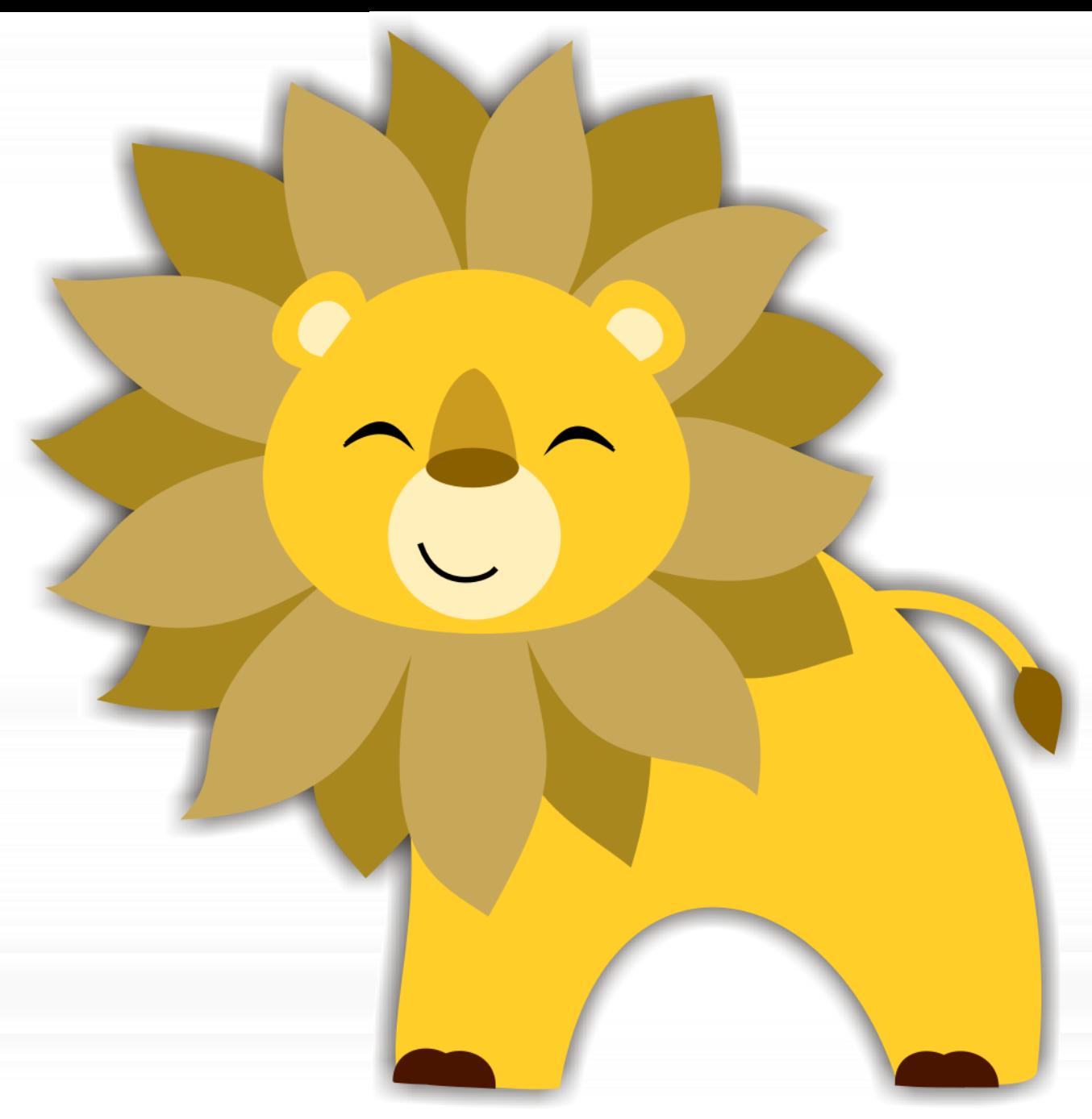 Lion Photo Invitation - ALL COLORS Personalized Party Invites