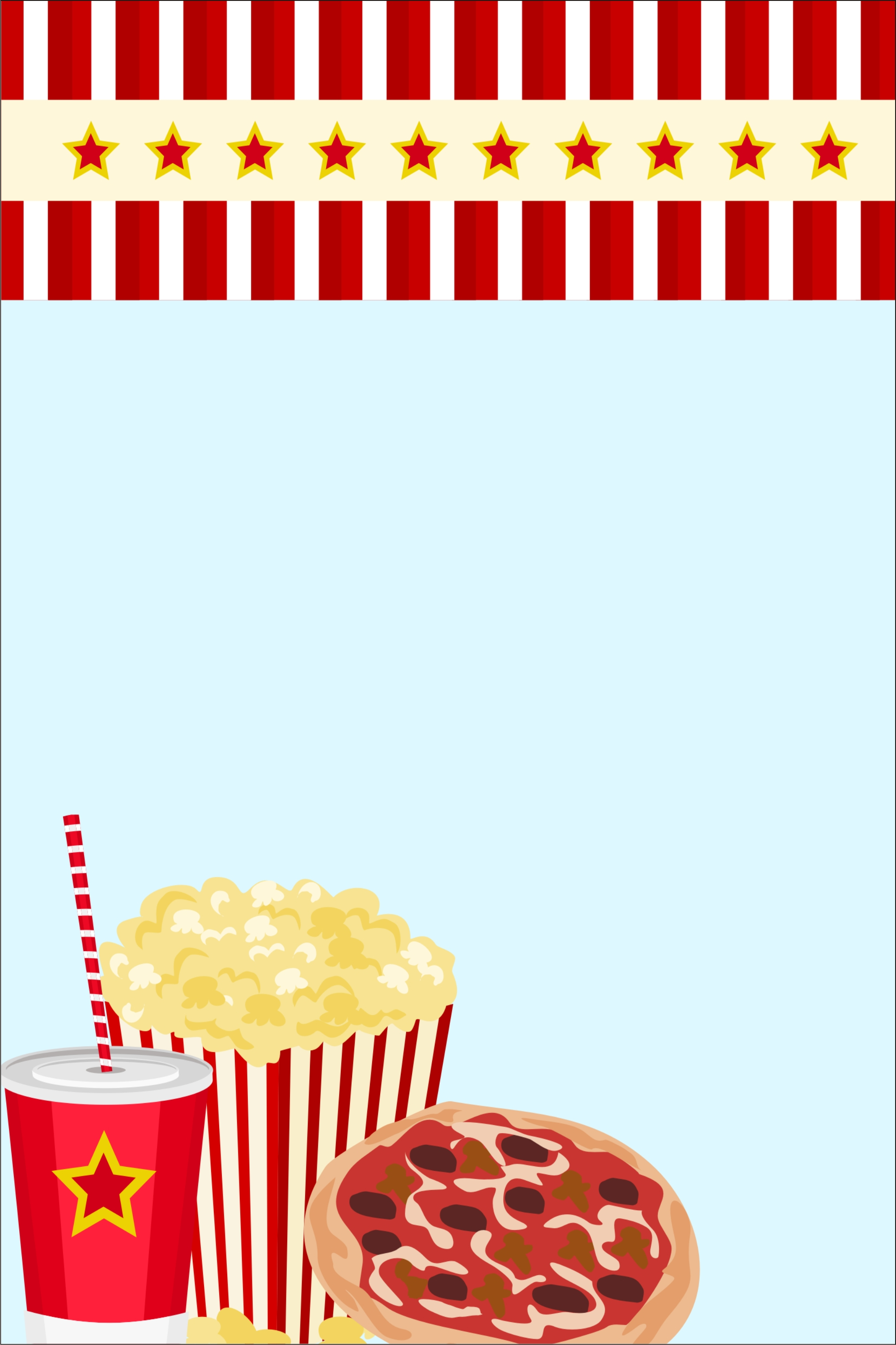 movie night invitation personalized party invites