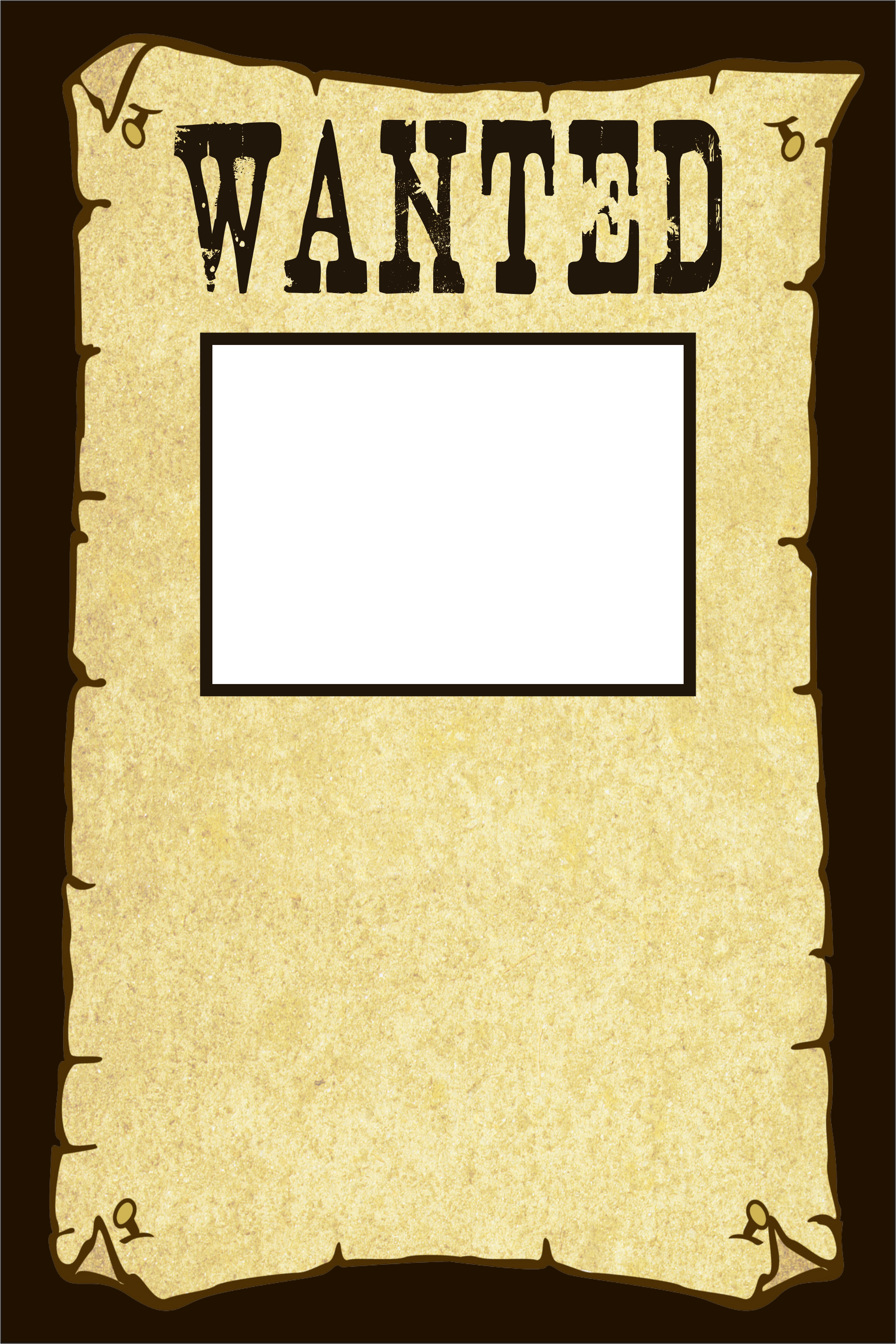 Wanted Poster Invitation Personalized Party Invites