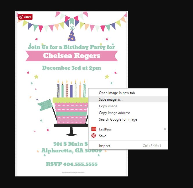 how to print printable invitations