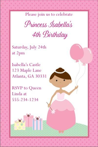 Princess Invitation 7