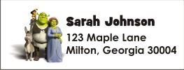 Shrek Personalized Return Address Labels
