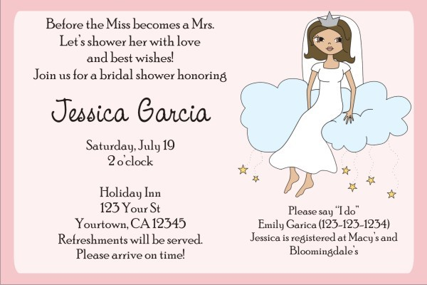Bridal Shower Invitations 3