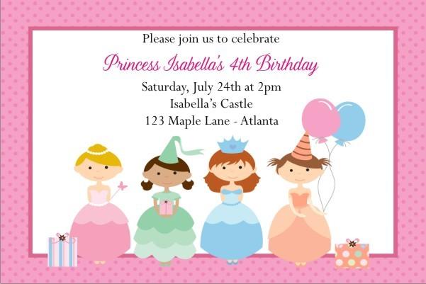 Princess Invitation 8