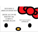 Hello Kitty Invitations - Classic Face