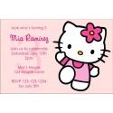 Hello Kitty Invitations - Pink Power