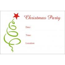 free printable christmas party invitation