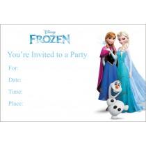 Frozen Free printable Birthday Party Invitation