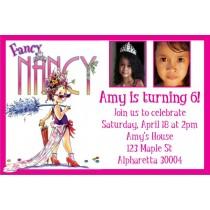 Fancy Nancy Photo Invitation