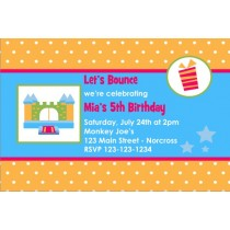 Bounce House / Castle Invitation 3