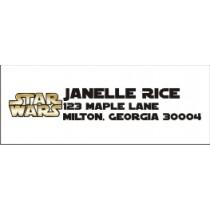 Star Wars Return Address Labels
