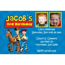 Toy Story Invitation (Jessie and Woody) with Optional Photos