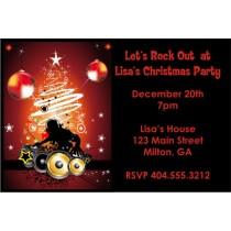Christmas DJ Holiday Party Invitation