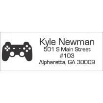 Video Game Return Address Label