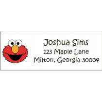 Elmo Sesame Street Return address labels personalizedpartyinvites.com