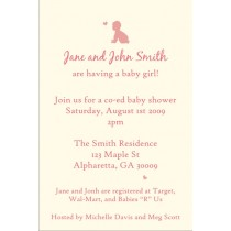 Baby Shower Invitation (Girl)