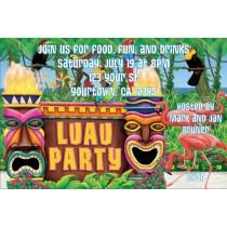 Luau Party Invitations 2
