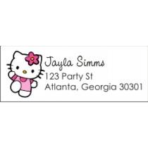 Hello Kitty Return Address Labels