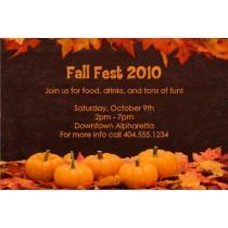 Fall Pumpkins Thanksgiving Invitation
