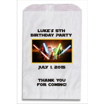 Lego Star Wars Personalized Party Favor Bags 10 count
