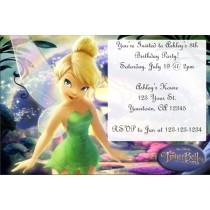 Tinkerbell Invitation