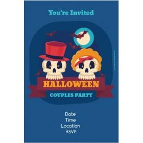 Halloween Couples Party Invitation