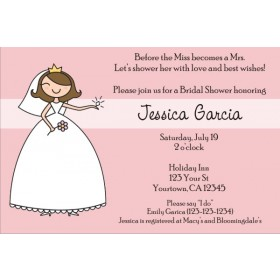 Bridal Shower Invitations 2