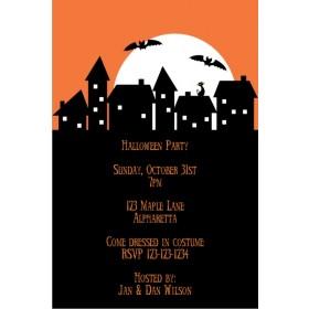 Spooky Neighborhood Halloween Party Invitation