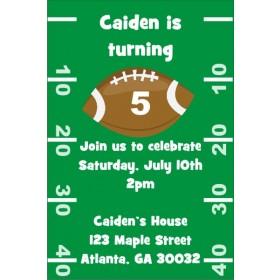 Football Invitation 2