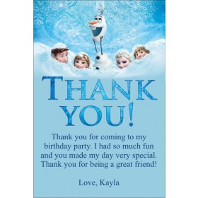 Frozen (Movie) Thank You Card