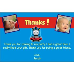 Thomas the Tank Engine (Train) Thank You Cards