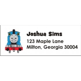 Thomas the Tank Engine Train Return Address Labels