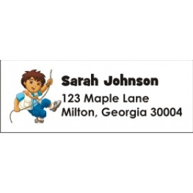 Go Diego Go! Return Address Labels