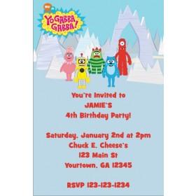 Yo Gabba Gabba Invitation