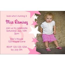 Photo Invitation 18 (Pink)