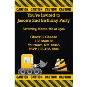 Construction Zone Invitations
