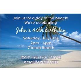 Beach Invitation
